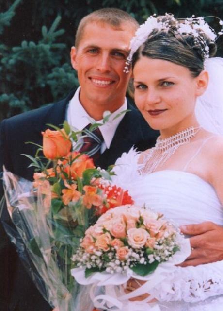 Дочь Тома и ее муж Алексей на свадьбе.JPG