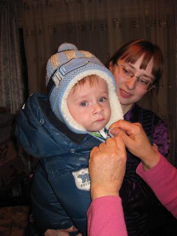 Племянница Марина Елецких с сыном, Воронеж..JPG