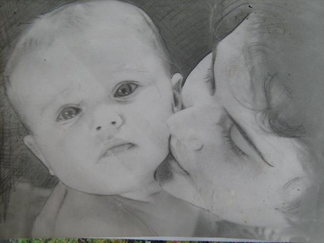 Моя Людмила и сын Юрий. Мой снимок , мы живем в Ст. Осколе.jpg