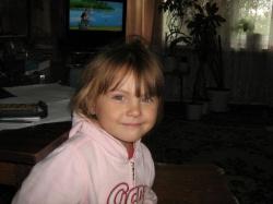 Моя Мариночка, внученька у нас дома.JPG